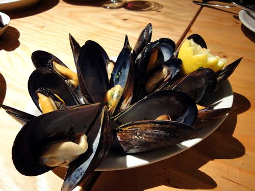ムール貝の蒸し煮